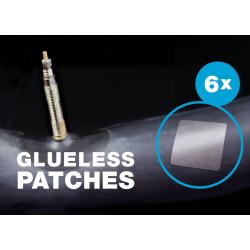 Set toppe per tubolari Schwalbe, 6 pezzi autoadesivi glueless patches