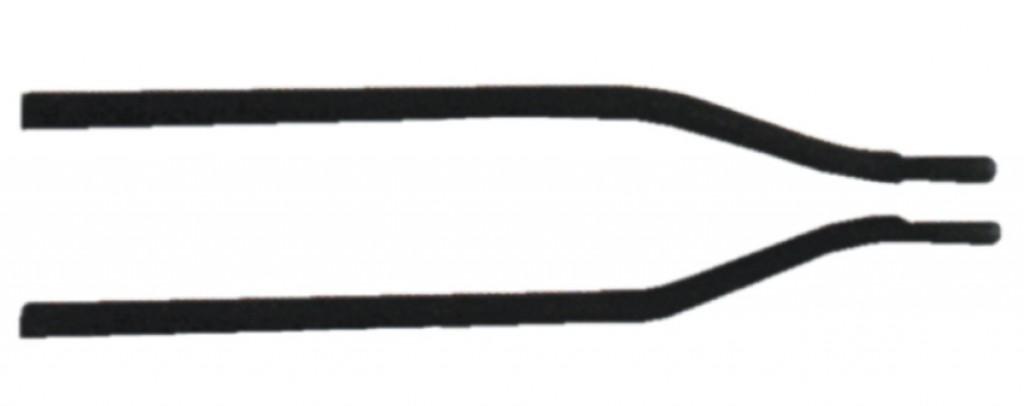 Asta di fissaggio Tubus, 1 pezzo 190 mm con spostamento di 8 mm
