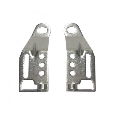 Staffa terminale dei montanti per freno a disco compatibile con Athlete Quick-Rack