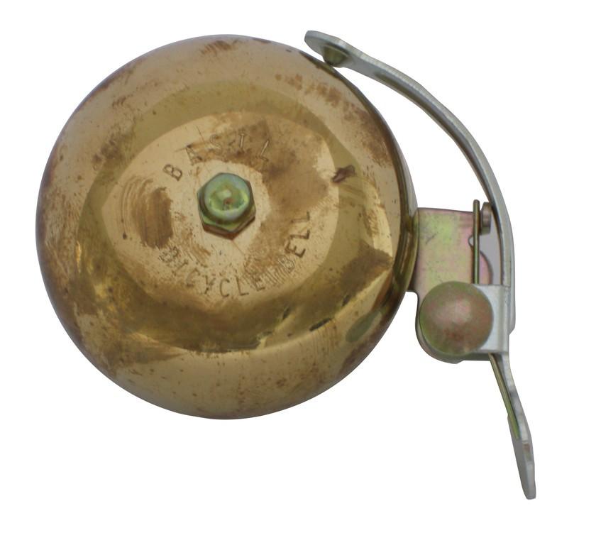 Campanello bici corsa vintage Basil Portland ottone, Ø 55mm