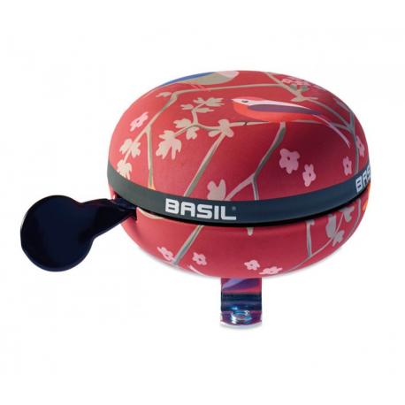 Campanello Ding-Dong Basil Wanderlust vintage-red, Ø 80mm