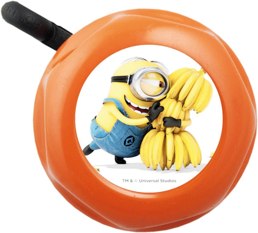Campanello Minion arancione, Ø 55mm