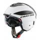 Casco Cratoni Vigor (bici speed) T. L (58-59cm) bianco/antracite lucido