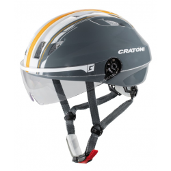 Casco Cratoni Evolution light T. S/M (53-57cm) antracite/arancione luc