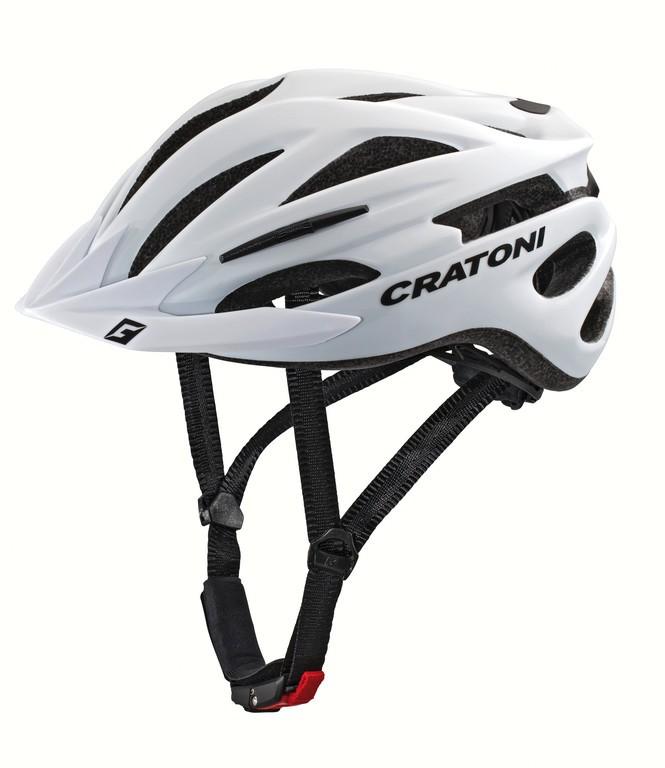 Casco Cratoni Pacer (MTB) T. L/XL (58-62cm) bianco opaco