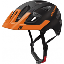 Casco Cratoni Maxster Pro (Kid) T. S/M (51-56cm) nero/arancione opaco