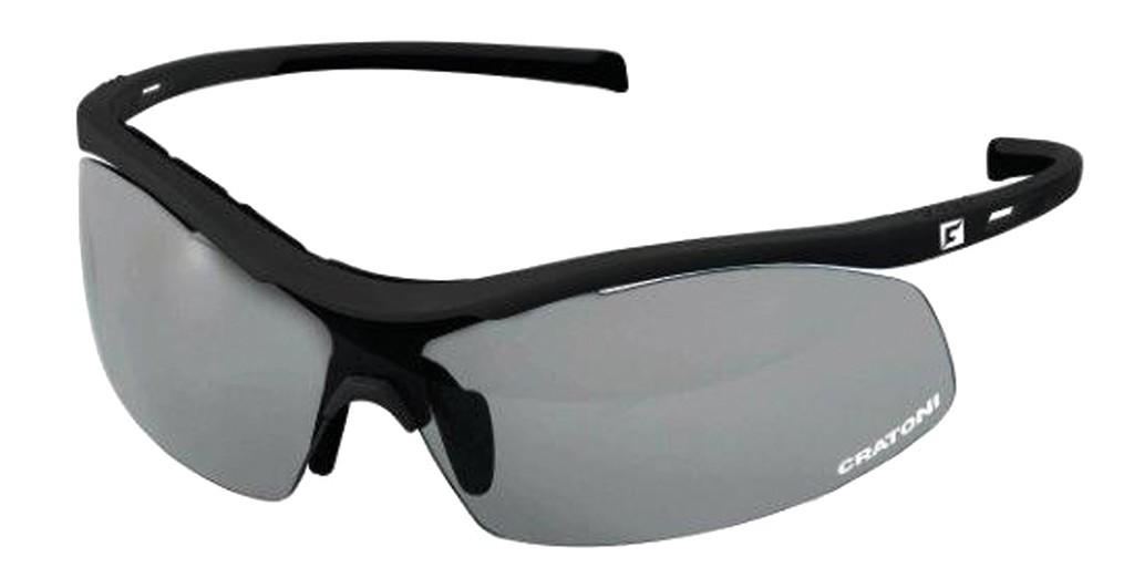 Occhiali da sole Cratoni C-Shade nero opaco, lenti fotocromatiche