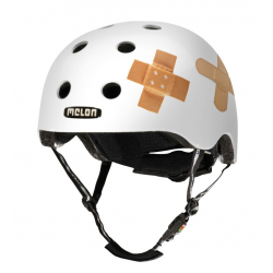 Casco Melon Urban Active Story Plastered White T. M-L (52-58cm)