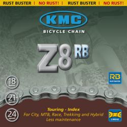 Catena KMC Z 51 RB, 116 maglie 7,1mm, 6V-7V-8V, Niro