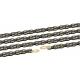 XLC catena CC-C08 1/2 x 11/128, 114 maglie, 10V, nero/oro