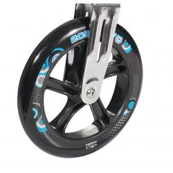 Ruote in PU Hudora Big Wheel al pezzo 205 mm Ø nero/turchese per mod.14751