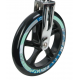 Ruote in PU Hudora Big Wheel al pezzo 205 mm Ø nero/petrolio per mod.14749