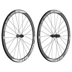 "Ruota anteriore DT Swiss RC 38 C Spline DB 28"" carbonio, nero, Center Lock 100/15mm PP"