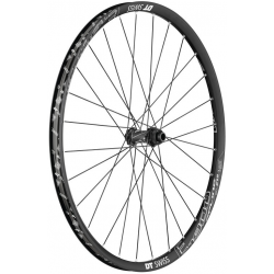 "Ruota anteriore DT Swiss E 1900 Spline 27.5"" Alu, nero, Center Lock, 100/15mm TA"