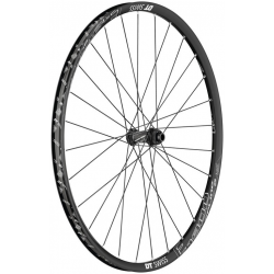 "Ruota anteriore DT Swiss E 1900 Spline 29"" Alu, nero, Center Lock, 100/15mm TA"