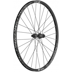 "Ruota posteriore DT Swiss E 1900 Spline 29"" Alu, nero, Center Lock, 142/12mm TA"