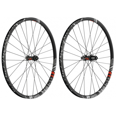 "RA DT Swiss EX 1501 Spline One 27,5"" Alu, nero, Center Lock, 100/15mm PP"