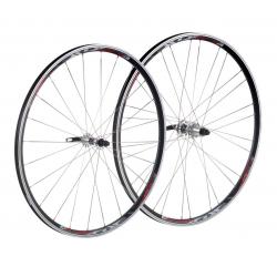"""Coppia di ruote XLC Comp Racing 28"""", nero , raggi piatti argento"""