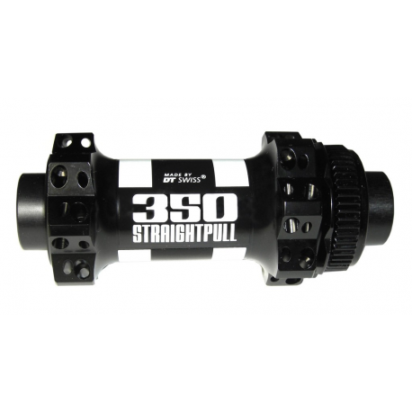 Mozzo RA DT Swiss 350 Road Straightp DB 100mm/15mm PP, senza QR, 28L