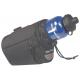 Borsa sottosella Micro Bottle Bag nero, 9x14x15cm, compreso adattatore 0289S