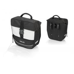 XLC borsa singola Traveller BA-S67 nero/antracite, 34x30x13cm, ca.13 litri