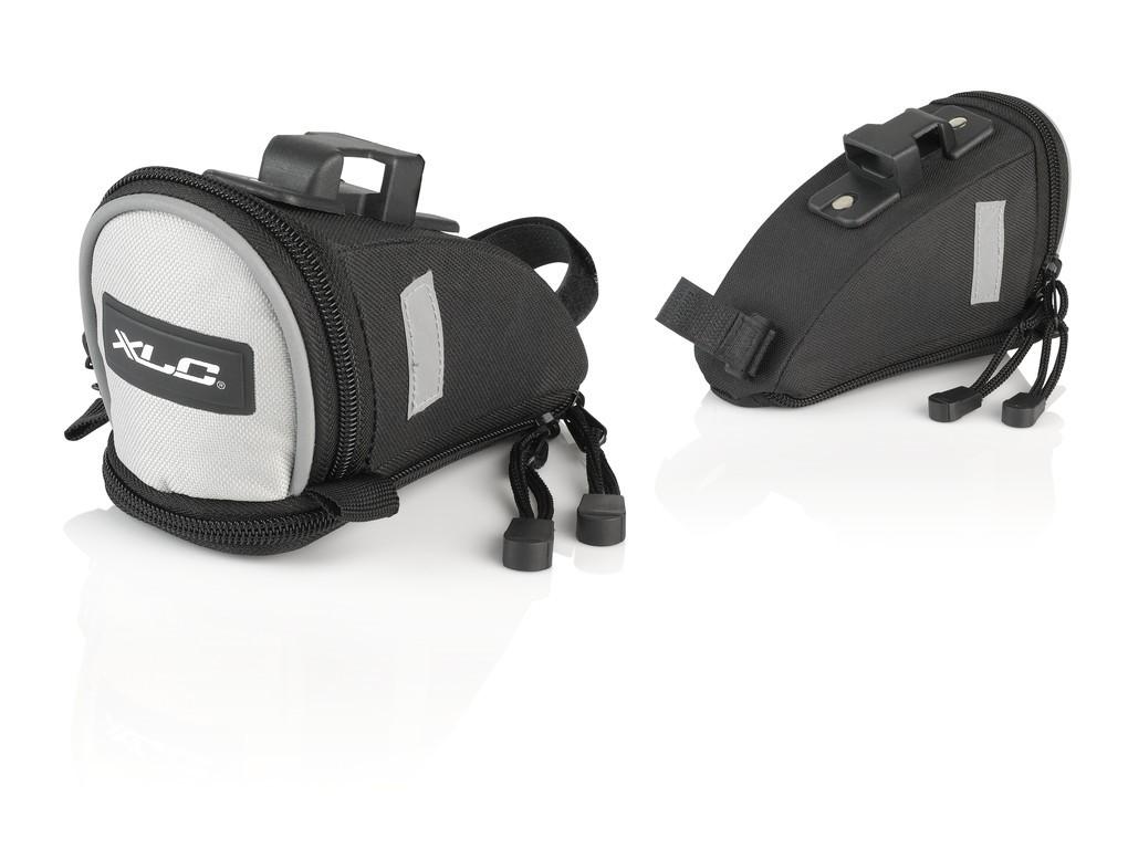XLC borsa sella Traveller BA-S73 20x18x13 cm, ca. 2,4 l. con QR