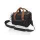 XLC borsa portapacchi BA-W30 marrone nero, 30x14x18cm, ca. 7ltr