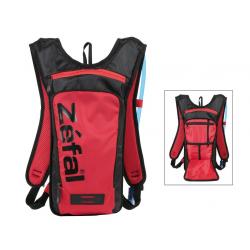 Zaino idrico Zefal Z Light Hydro M rosso/nero 1,5 litri, sacca idrica inclusa