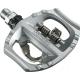 Pedali SPD Touring Shimano PD-A 530 argento un lato, sgancio regolabile