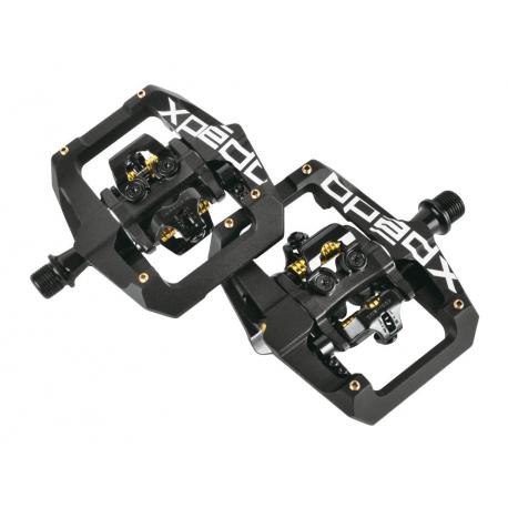 """Pedali Xpedo GFX nero, special edition, 9/16"""", XGF04AC"""
