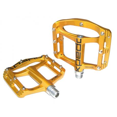 "Pedali Xpedo SPRY gold , 9/16"", XMX24MC"