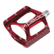 "PedaliXpedo ZED rosso , 9/16"", XMX27AC"