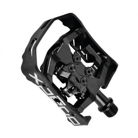"Pedali Xpedo Clipless XCF13AC nero/nero, 9/16"", XCF13AC"