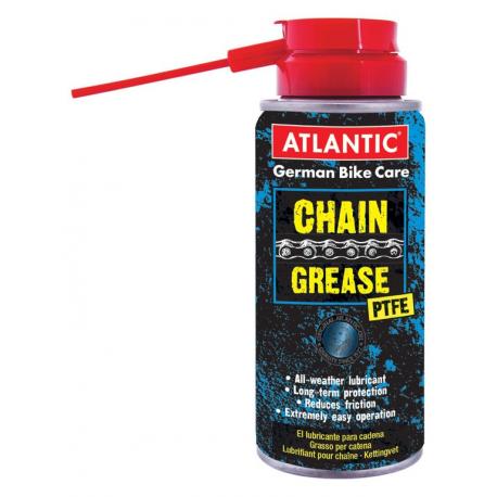 Grasso per catene Atlantic con PTFE 150ml, spray con beccuccio