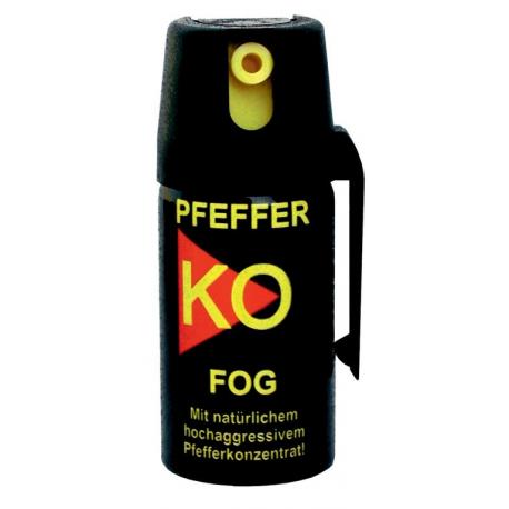 Spray al pepe Ballistol Pfeffer-KO 40ml, spray FOG, in blister