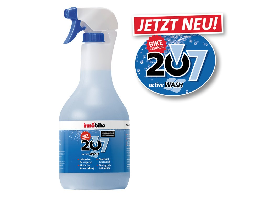 Bike Cleaner 207 Innobike active Wash 1000ml, bottiglietta spray
