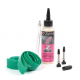 "Kit di modifica Tubeless Zefal 27,5"" verde Sealant + nastri Tubeless + valvole"