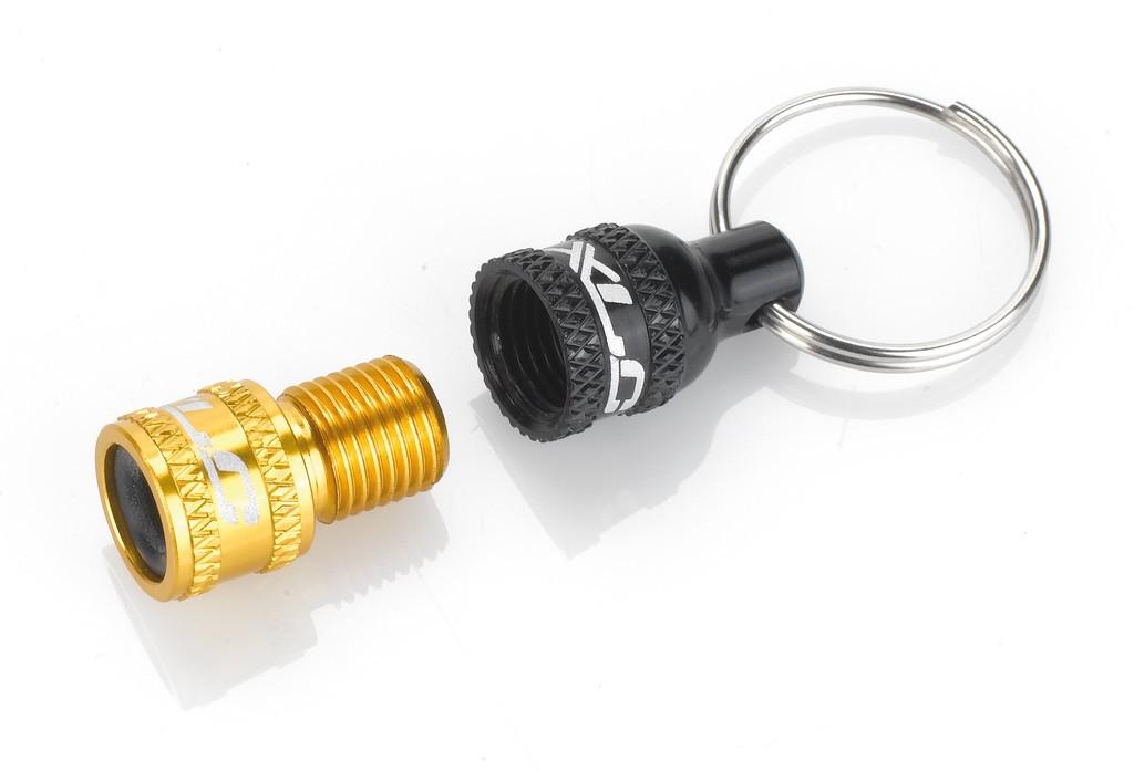 XLC Adattatore valvola da VS a VD/VP nero/oro