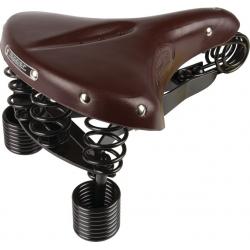 Sella Lepper Primus Authentic Line marrone, uomo 215, 280x230x70mm, 2195 g