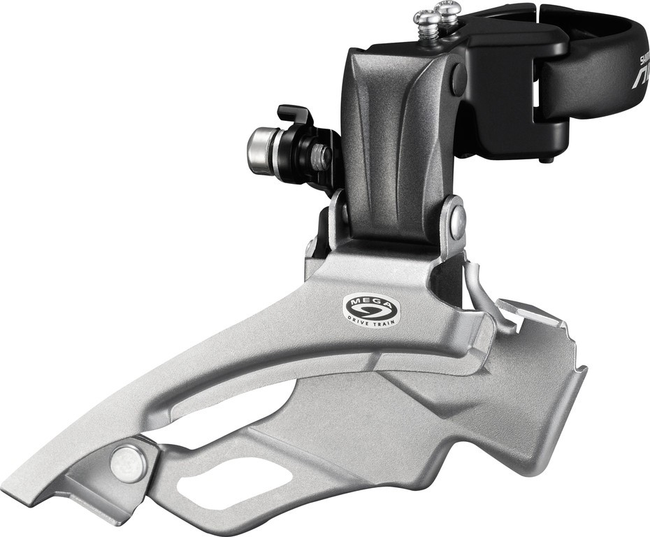 Deragliatore Shimano Down-Swing Dual Pull FD-M 371X3 63-66°, 34,9/31,8/28,6mm