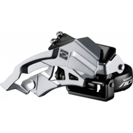Deragliatore Shimano Acera Top-Swing FD-M 3000, DualPull, 31,8mm, 66-69° 9V