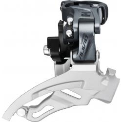 Deragliatore Shimano Alivio Top-Swing FD-M4000, Dual Pull, 31,8mm, 63-66°, 9V