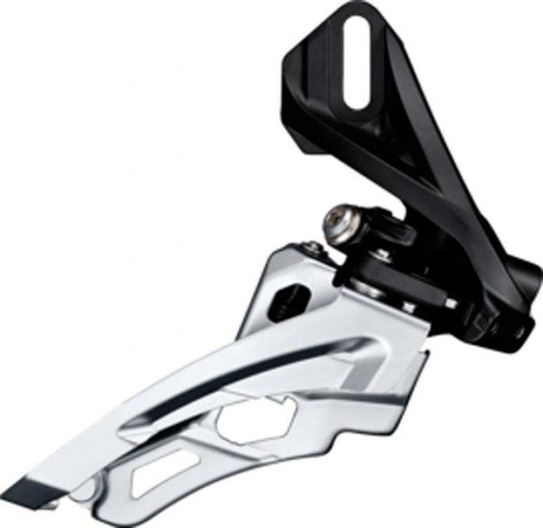 Deragliatore Shimano Deore Side Swing FD-M612D6, Front Pull, 66-69° nero, direct