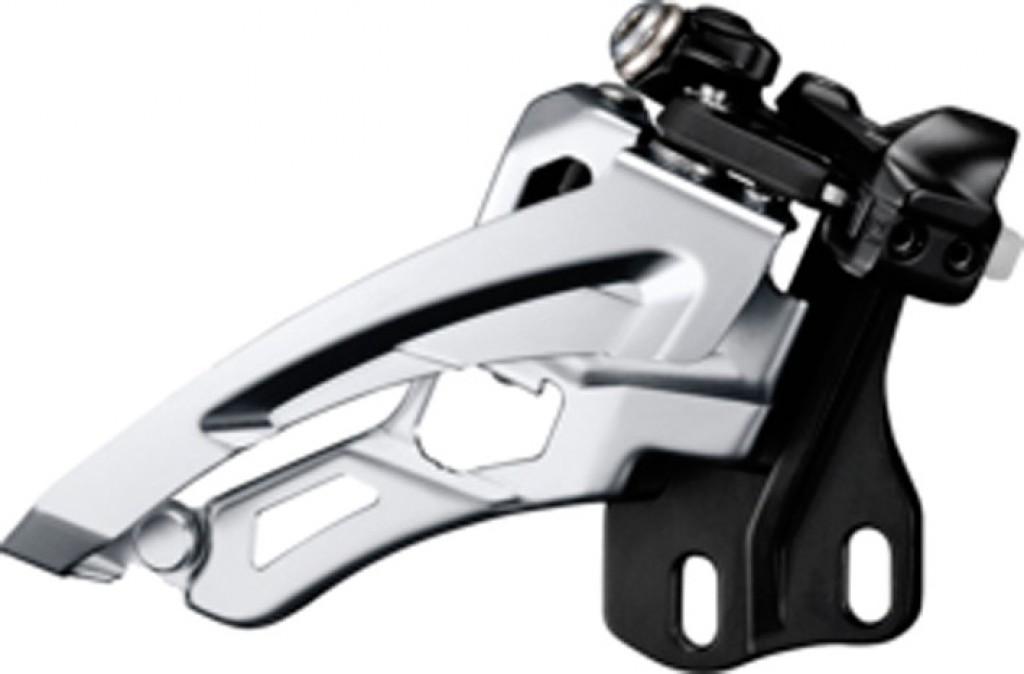 Deragliatore Shimano Deore Side Swing FD-M612E6, Front Pull, 66-69° nero, E-Typ