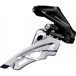 Deragliatore Shimano Deore Side Swing FD-M612HX6, Front Pull, 66-69° nero High-C