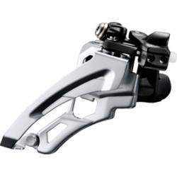 Deragliatore Shimano Deore Side Swing FD-M612LX6, Front Pull, 66-69° nero Low-C