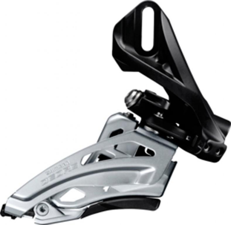 Deragliatore Shimano Deore Side Swing FD-M617D6, Front Pull,66-69° nero direct