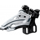 Deragliatore Shimano Deore Side Swing FD-M617E6X, Front Pull, 66-69° nero E-Typ
