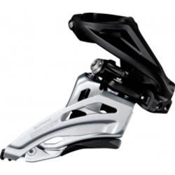 Deragliatore Shimano Deore Side Swing FD-M617HX6, Front Pull, 66-69° nero High-C