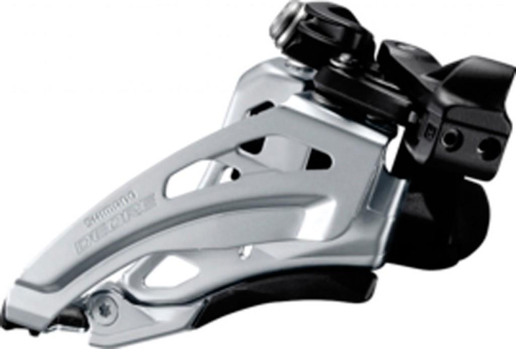 Deragliatore Shimano Deore Side Swing FD-M617LX6, Front Pull, 66-69° nero Low-C